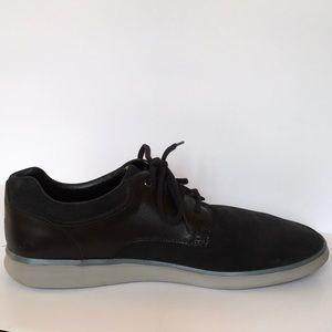 UGG Shoes - UGG HEPNER Men's Black Suede Oxford\Trainer Sz15